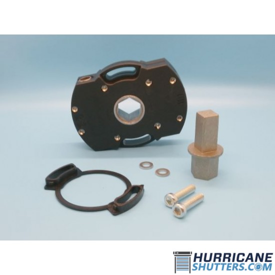 Gear Kit for Roll Shutters & Awnings - 7MM (PVC)